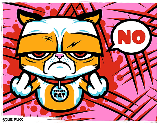 Sour Puss by harebrained