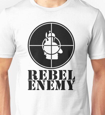 Rebel Enemy Black Unisex T-Shirt