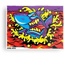 Shark Week Metal Print