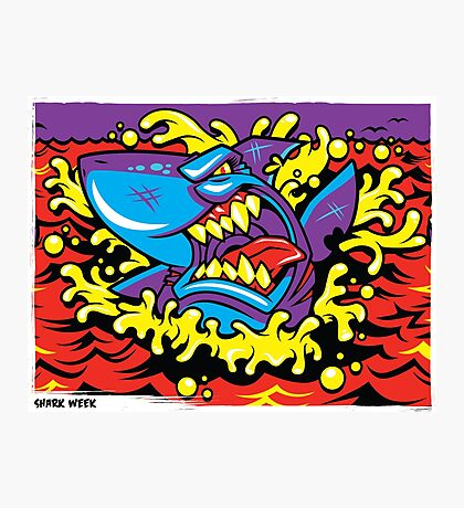 Shark Week Photographic Print