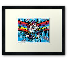 Rainbo: First Blood Framed Print