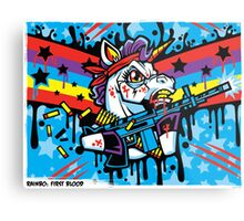 Rainbo: First Blood Metal Print