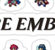 SMASH LORDS   Fire Emblem Sticker