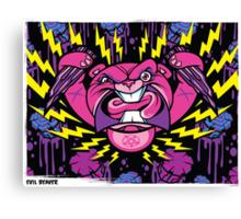 Evil Beaver Canvas Print