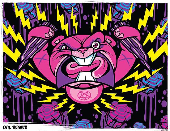 Evil Beaver by harebrained
