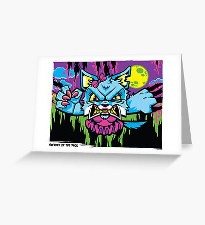 Bleeder of the Pack Greeting Card
