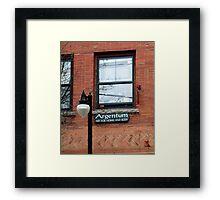 wakefield rhode island,  Argentum Framed Print