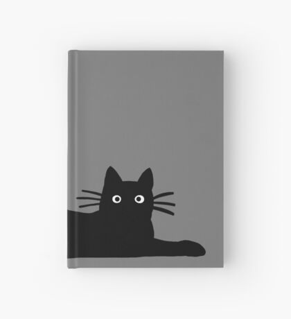 Black Cat Hardcover Journal
