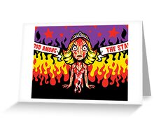 Curse of Blood Greeting Card