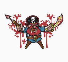 Captain Redbeard One Piece - Short Sleeve