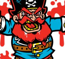 Captain Redbeard Sticker