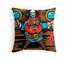 Captain Redbeard Throw Pillow