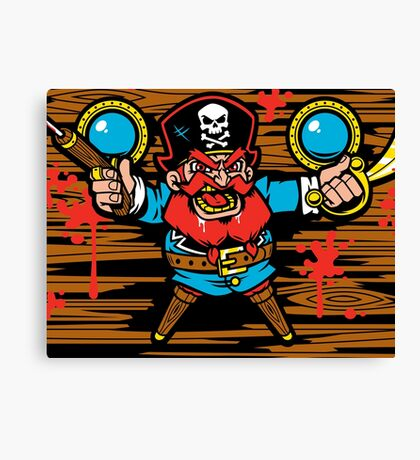 Captain Redbeard Canvas Print