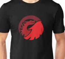 Fire Dragon Wrap Unisex T-Shirt