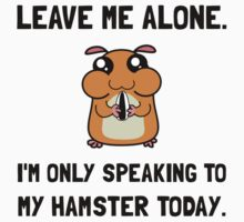 Alone Speaking Hamster Kids Clothes