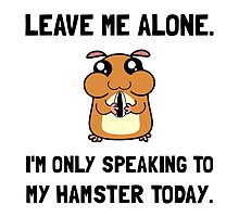 Alone Speaking Hamster by AmazingMart