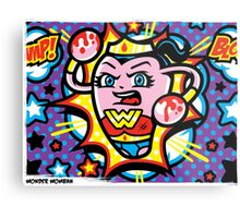 Wonder Womban Metal Print