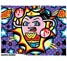 Wonder Womban Photographic Print