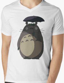 My Neighbour Totoro - Umbrella Totoro Mens V-Neck T-Shirt