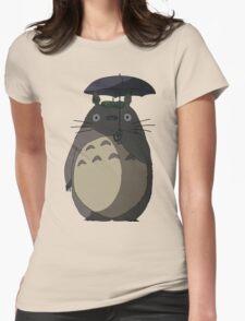 My Neighbour Totoro - Umbrella Totoro Womens Fitted T-Shirt