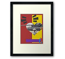 Fair Warning for Few. Framed Print