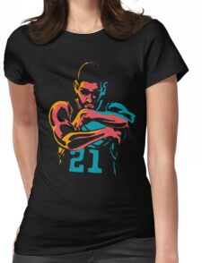 Tribute to Tim Duncan Womens Fitted T-Shirt