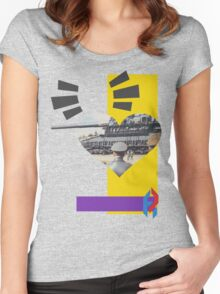 Fair Warning for Few. Women's Fitted Scoop T-Shirt