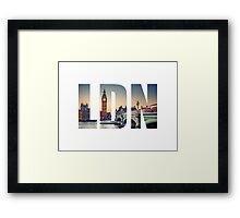 London Framed Print