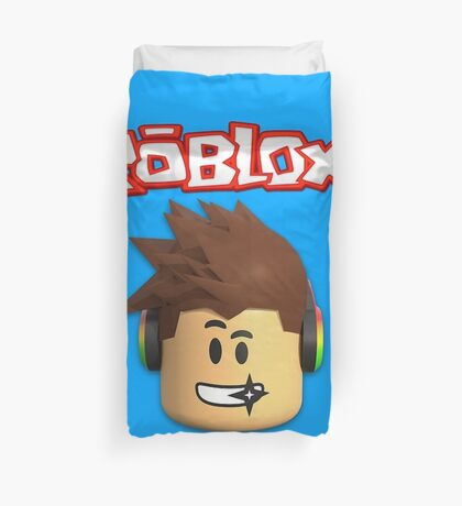 Roblox Character Head Duvet Cover