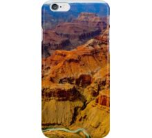 Grand Canyon as seen from a helicopter iPhone Case/Skin