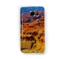 Grand Canyon as seen from a helicopter Samsung Galaxy Case/Skin