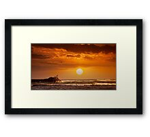 6:03 PM Hawaii Time Framed Print