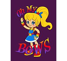 Oh My Bows Photographic Print
