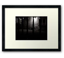Spooky View Framed Print