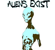 Aliens Exist by FlyingSufi