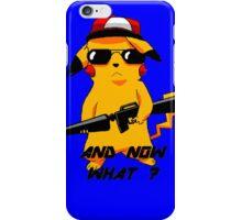 Pikachu - blue iPhone Case/Skin
