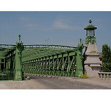 Schemerlbrücke, Vienna Austria Photographic Print