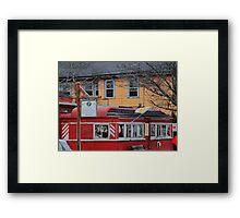wakefield rhode island 13 Framed Print