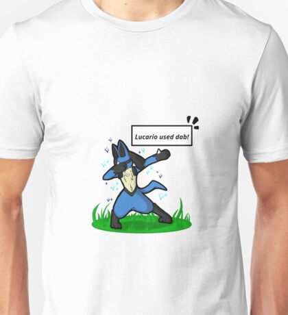 Lucario used dab! Unisex T-Shirt
