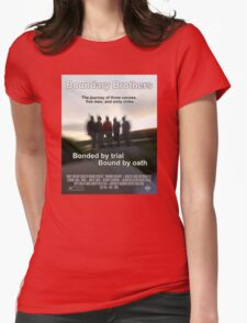 Boundary Brothers Movie Poster Womens Fitted T-Shirt