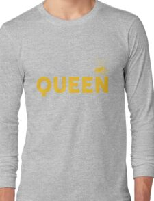 Queen Bee Crown  Long Sleeve T-Shirt