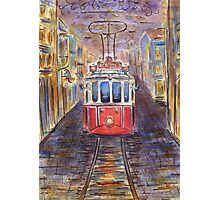 old tram  Photographic Print
