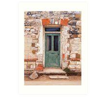 Door at Castle Acre Art Print