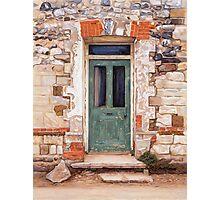 Door at Castle Acre Photographic Print