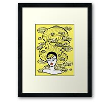 Lemon Grass Framed Print
