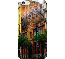 Art installation in Barcelona iPhone Case/Skin