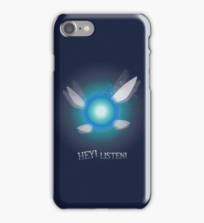 Navi from Zelda Series - Hey! Listen! iPhone Case/Skin