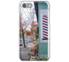 wakefield rhode island  barber shop iPhone Case/Skin