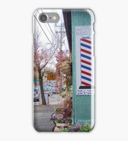 wakefield rhode island  barber shop iPhone Case/Skin