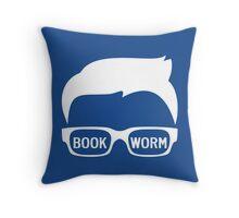 BOOKWORM Throw Pillow